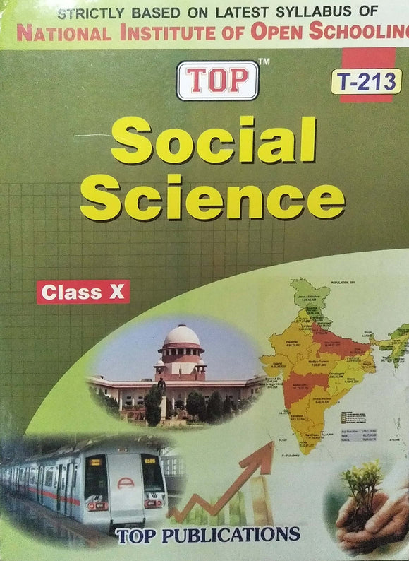 TOP NIOS Class 10 Social Science Guide T - 213