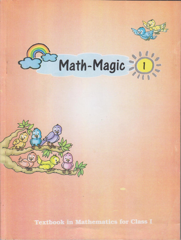 NCERT Math Magic Textbook in Mathematics for Class - 1