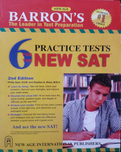 Barron's 6 Practice Tests for the New SAT, Philip Geer