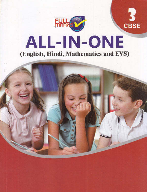 All In One Class 3 (English, Maths, Hindi & EVS)