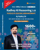 Radhey Ki Reasoning 2.0 - Puzzles & Seating Arrangement 2.0 by Radhey Sir