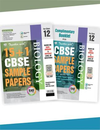 Together with Class 12 Biology EAD 15+1 CBSE Sample papers for 2020 exams