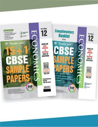Together with Class 12 Economics EAD 15+1 CBSE Sample papers for 2020 exams