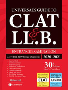 Universal Guide to CLAT & LL.B. Entrance Examination 2020-21
