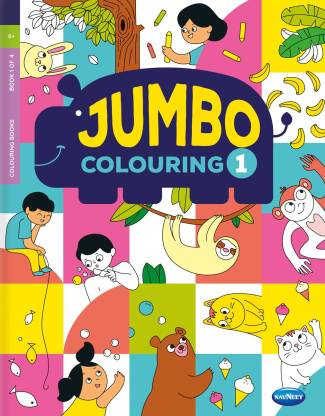 Navneet Jumbo Colouring Book 1