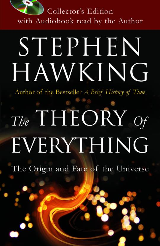 Theory Of Everything (With CD) Stephen Hawking
