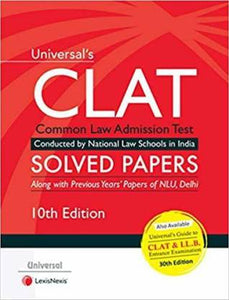 Universal CLAT Solved Papers 10th Edition