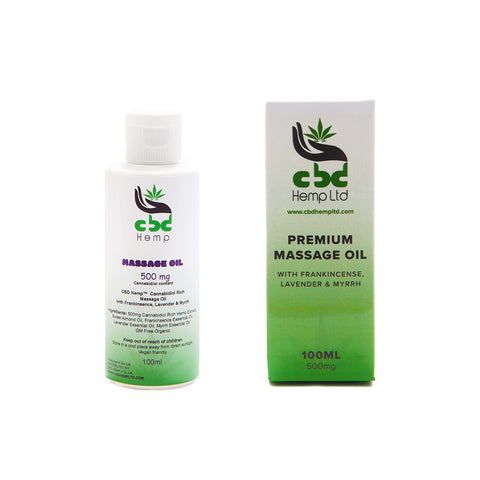 CBD Massage Oil (500MG)