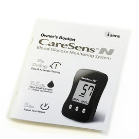 CareSens N Owner's Booklet (A5 size) - Spirit Healthcare