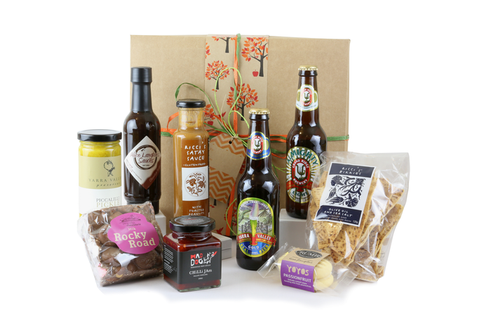 Just a taste men's gift box  with beer, snacks and treats