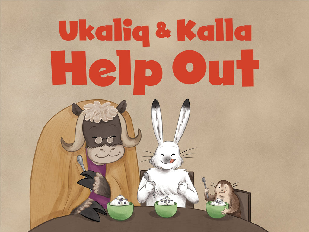 Ukaliq and Kalla Help Out