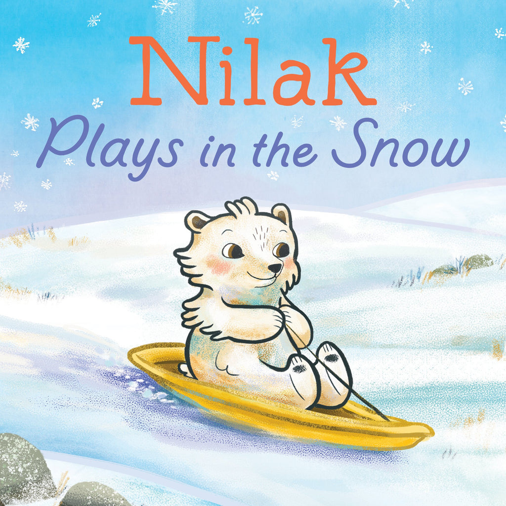 Nilak Plays in the Snow