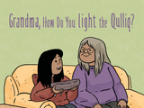 Grandma, How Do You Light the Qulliq?