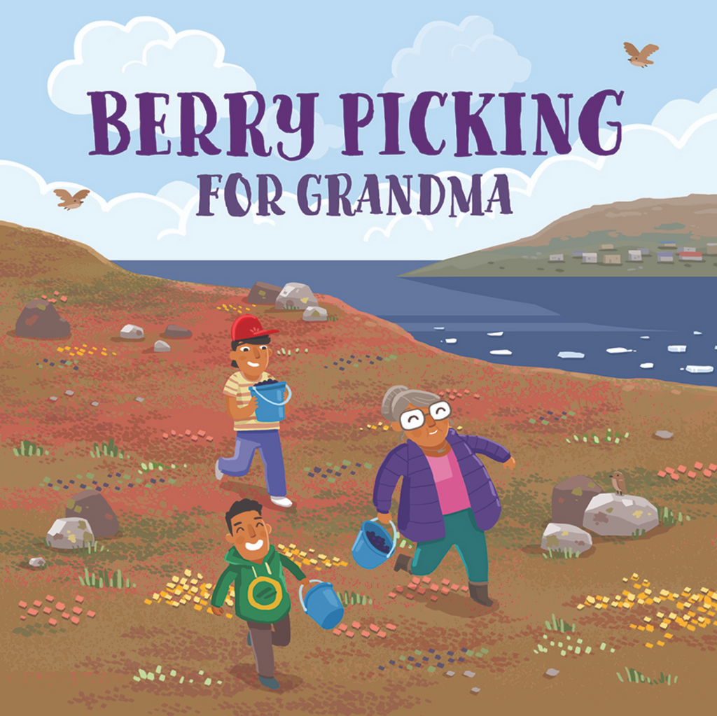 Berry Picking for Grandma