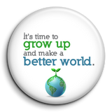 Grow the Planet Pin