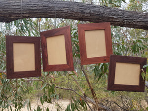 10 x 8 single recycled timber photoframe made in Australia from recycled red gum