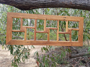 Brown Gum 12 opening Ready Made Picture Frame in Eco Friendly Australian Recycled Timber