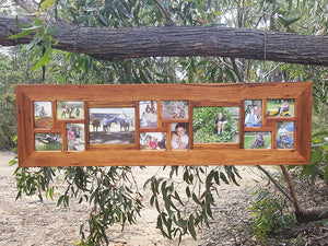 Unique-Collage-Frames-Australia,-14-opening-Eco-Friendly-Recycled-Timber-Picture-Frame
