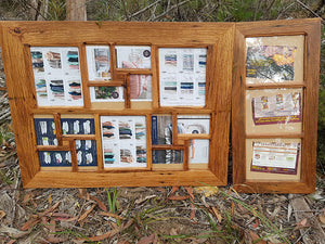 Made to order family photo frames for family photo collage displays