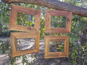Beautiful hand made rustic wooden photo frames in any size