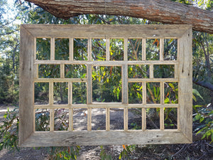 Rustic Grey Fence look large multi frame handcrafted Recycled Timber Picture Frames Australia