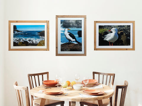 Seascape and Bird Photographer Mariah Cula used Wombat Frames custom framing Australia