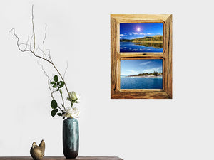 Double Recycled Timber small multi frame made using Eco Friendly Recycled Timbers Australia