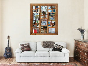 Wedding Multi Photo Frames Australia for 30 Pictures made in Eco Friendly Recycled Timber