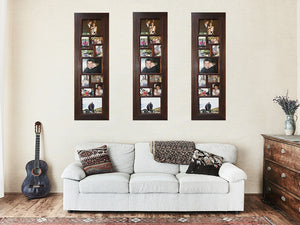 Recycled Timber Gallery Photo frames Australia Multi openings for 11 Pictures