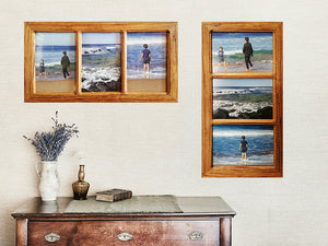 3 opening Eco Friendly Wooden Photo Frames Online in Authentic Recycled Australian Timbers