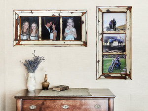 Antique White old Architraves, Wedding Photo Frames and Family Photo Frames, made in Australia