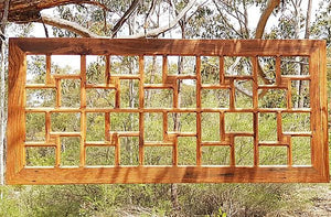 Large wooden multi picture frame, made in Australia by Wombat Frames