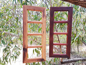 4 opening multi collage photo frames made with Australian Recycled Timber, Eco Friendly