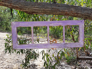 Purple 4 opening multi photo frame perfect for Wedding Photos made to order Australia