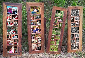 Australian Recycled Timber Multi opening Picture Frames
