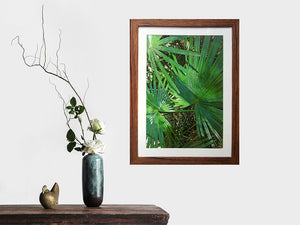 Single A3 picture frame with 3cm mat in Brown Gum Recycled Timber