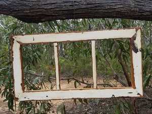 Old Architrave Repurposed Wooden 3 opening Wedding photo frames Australia