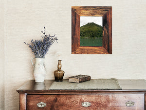 Handmade Recycled Australian Timber A4 photo frame available custom sizes online