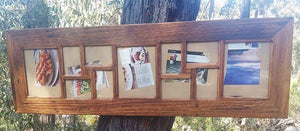 Australian made Eco Friendly Wedding Photo Frame for 11 Pictures