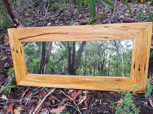 Custom size Brown Gum Eco Friendly made in Australia Mirror