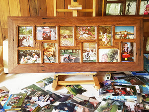 Family Photo Frames Australia 12 opening Eco Friendly Recycled Multi Photo Picture Frames