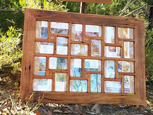 Ready Made Multi Picture Frames online Australia in Repurposed Timbers