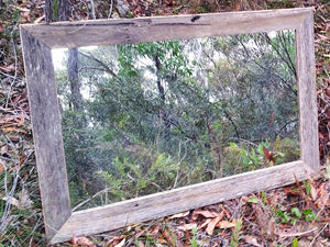 Australian Eco Friendly recycled and handcrafted timber feature mirrors