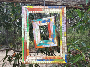 Bright and Happy Single Photo Frames for sustainable living handcrafted by Wombat Frames