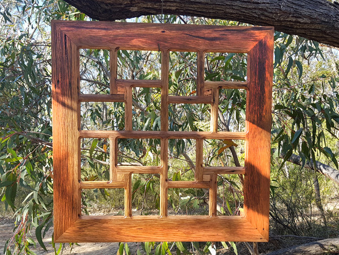 Wooden 16 opening Square Family Collage Picture Frame made in Australia
