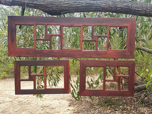 Red Gum Recycled Australian Timber Large multi picture photo frames Australia