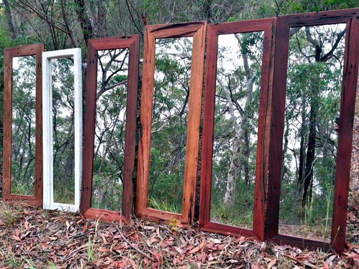 Dress Mirrors made with Eco Friendly Recyled Timbers Australia