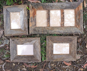 Rustic Grey Fence look Salvaged Timber Picture Frames Online Australia