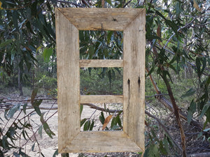 Eco Friendly Australian made Rustic Fence look photo frame for the natural look