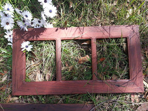Salvaged Redgum 3 opening Ready Made Frames handcrafted using Authentic Australian Timber